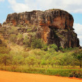 This country road will take you to a place even better than home - #arnhemland #westarnhemland #gunbalanya #oenpelli
