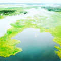 The breathtaking flood plains of Kakadu in the wet season #Kakadu #wetseason #westarnhemland #westarnhem #floodplains