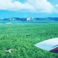 The wet season has well and truly arrived and the only way to travel to and from #Gunbalanya is by charter plane! What a view though.. #westarnhem #oenpelli #escarpment #kakadu #arnhemland